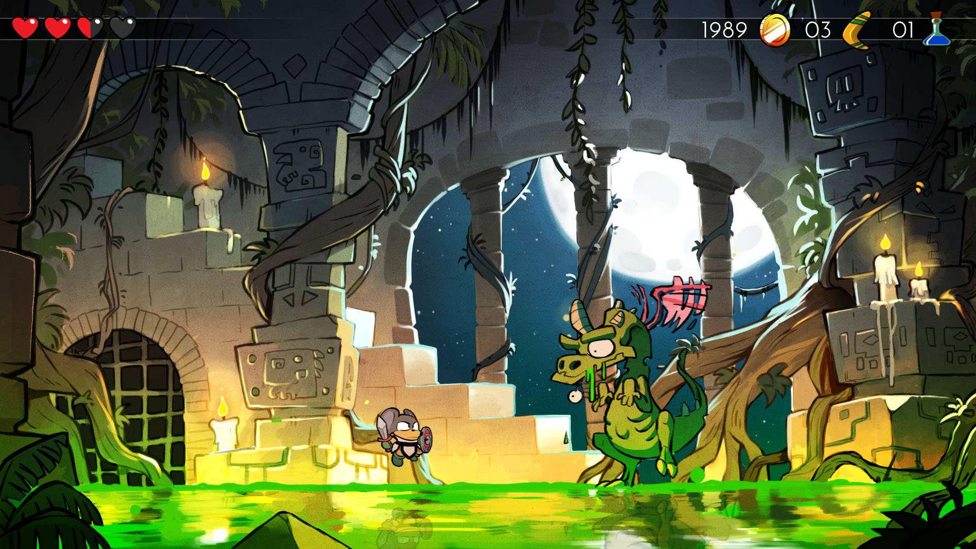 Remake NextGen Wonder Boy III : The Dragon's Trap WonderBoyTheDragonsTrap-06